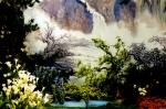 爭豔館:國畫山水造景