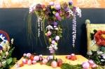 爭豔館:美麗的花藝設計